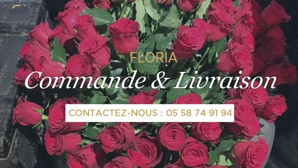 LIVRAISON DE FLEURS A DAX ET ALENTOURS   FLORIA (Interflora) e37ef7b7571